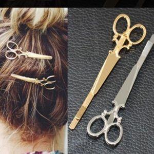 Accessories - Shears scissors hair pin clip hairstylist